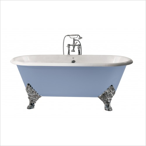 Heritage Bathtubs - Grand Buckingham Roll Top Bath No Tap Hole