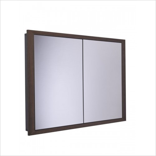 Scheme 1000 x 75mm Recessed Bathroom Cabinet