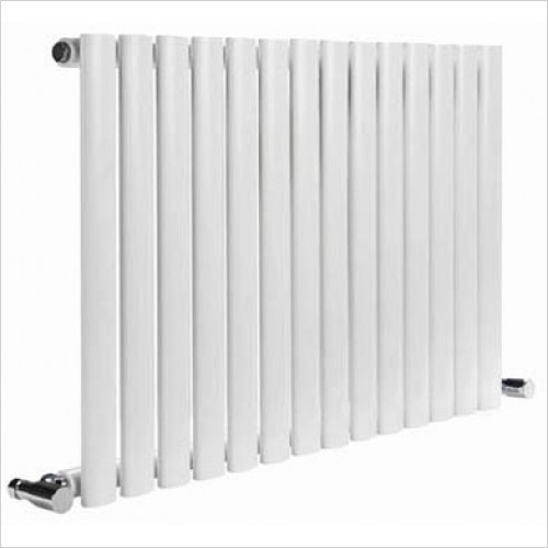 Reina Radiators - Neva Single Horizontal Radiator 550 x 590mm - Central