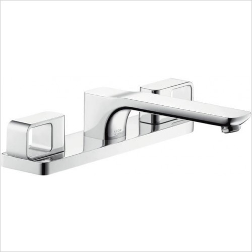Axor Taps - Urquiola 3-Hole Rim Mounted Bath Mixer