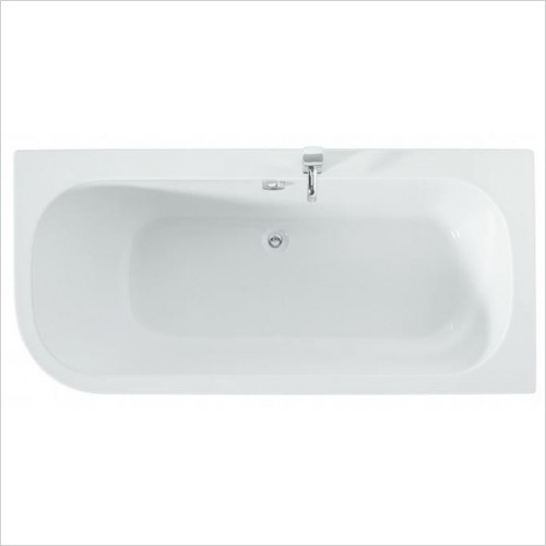 Adamsez Baths - Initial Single Ended Bath 1700x800mm RH