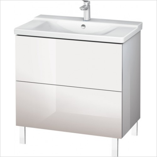 Duravit Furniture - L-Cube Vanity Unit Floorstanding 709x820x481mm