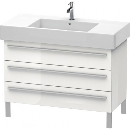 Duravit Furniture - X-Large Vanity Unit 588x1000x470mm 3 Drawers