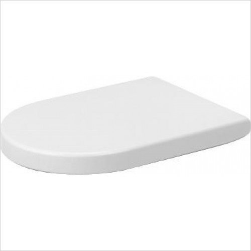 Duravit Toilet Seats - Seat & Cover Elongated Without Automatic Closure