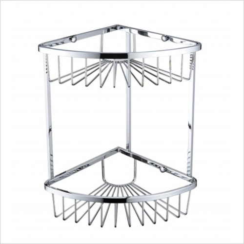 Heritage Accessories - 2 Tier Wire Basket 320x200x200mm