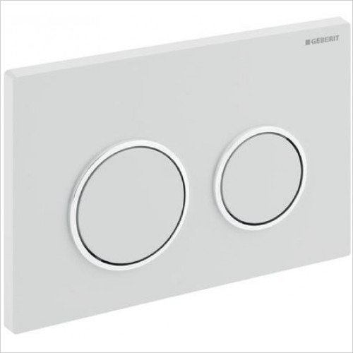 Geberit Optional Extras - Flush Plate Omega20 For Dual Flush