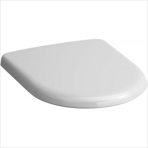 Laufen Toilets - Pro Fixed WC Seat & Cover With Antibacterial Coating