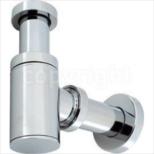Crosswater Optional Extras - Millennium Small Bottle Trap With 400mm Pipe