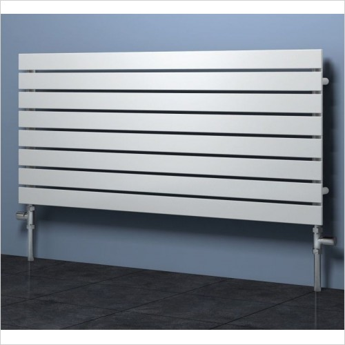 Reina Radiators - Rione Single Radiator 550 x 400mm - Electric