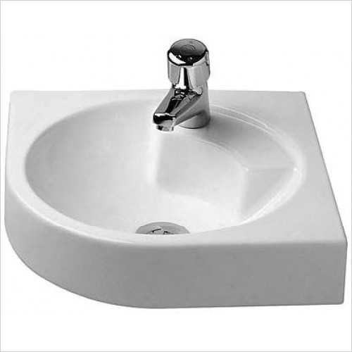 Duravit - Basins - Architec Washbasin 450mm Corner Model 1TH