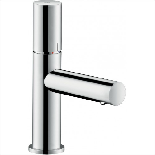 Axor Taps - Uno Single Lever Basin Mixer 80 Zero Handle Without Waste
