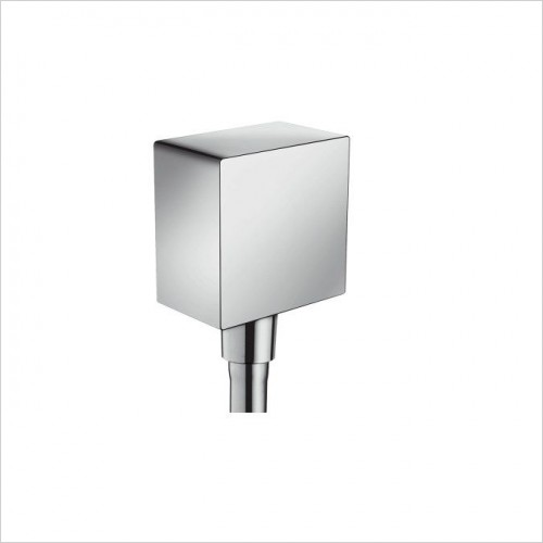 Hansgrohe Showers - FixFit Square Wall Outlet DN15 NRV