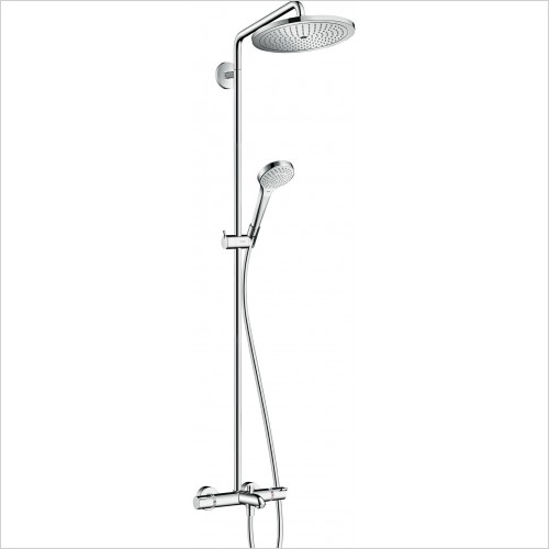 Hansgrohe Showers - Croma Select S 280 Air 1 Jet Shower Set For Bath Tub