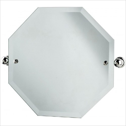 Perrin and Rowe Accessories - Traditional Octagonal Mirror 500 x 500mm