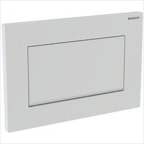 Geberit Optional Extras - Flush Plate Sigma30 For Stop-And-Go Flush, Screwable
