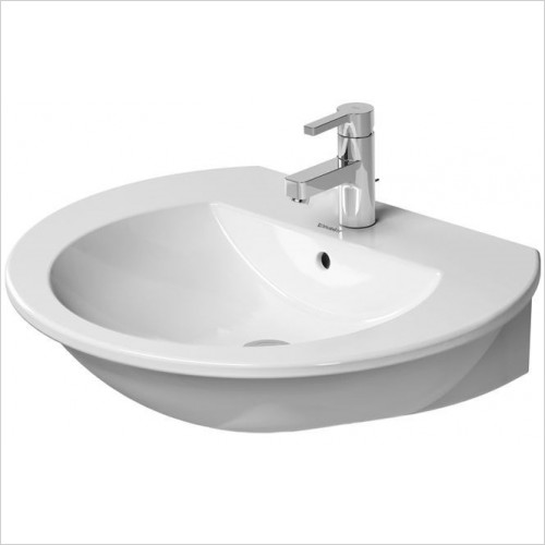 Duravit - Basins - Darling New Washbasin, 650 x 540mm - 3 tap holes