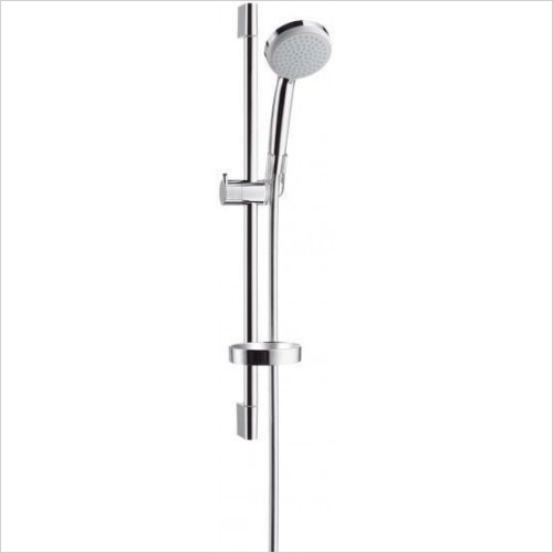 Hansgrohe Showers - Croma 100 Vario/Unica'C Shower Set with Rail 0.65m