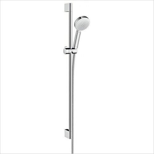 Hansgrohe Showers - Crometta 100 Vario Unica - Rail and Head Set 90cm