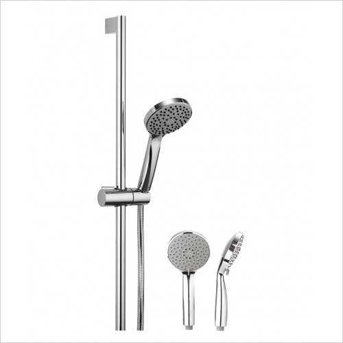 Crosswater Showers - Wisp Shower Head With 3 Spray Patterns