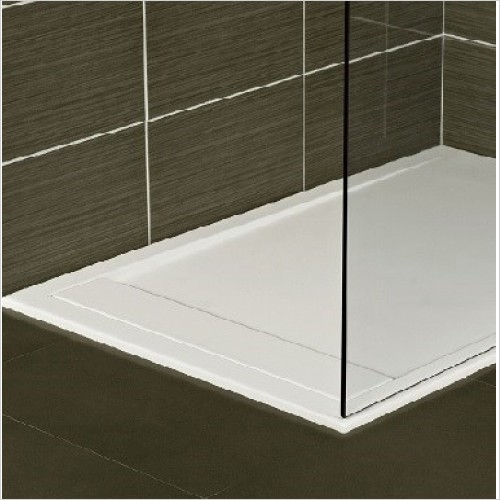 Roman Shower Enclosures - Infinity Tray 1000 x 800mm