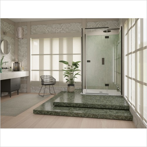 Matki Shower Enclosures - Illusion Corner & Side 1000 x 800mm Left Hand GG