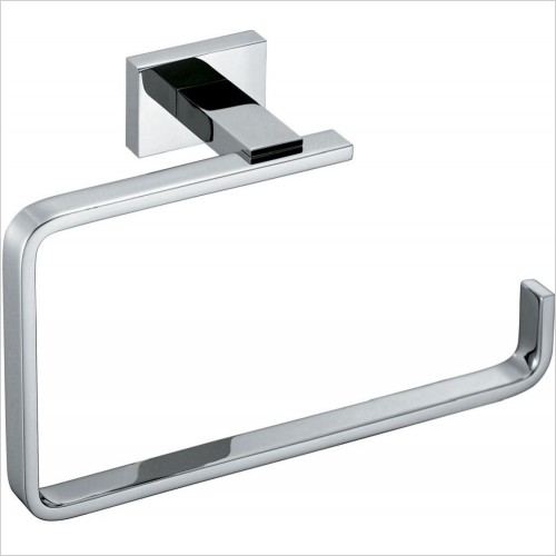 VADO Accessories - Level Towel Ring Wall Mounted