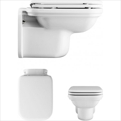 Crosswater Toilets - Waldorf Wall Hung WC