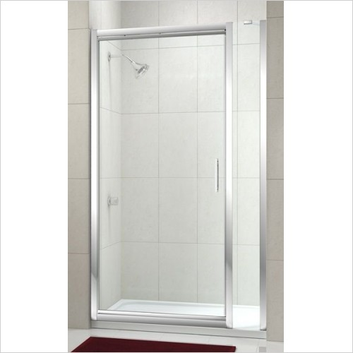 Merlyn Shower Enclosures - 8 Series Infold Door & Inline Panel 670-710mm