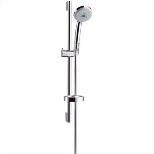Hansgrohe Showers - Croma 100 EcoSmart Multi/Unica'C Shower Set 0.65m