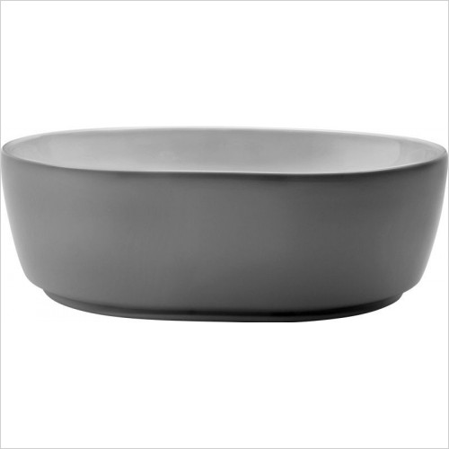 Bauhaus Basins - Pearl Counter Basin 450mm