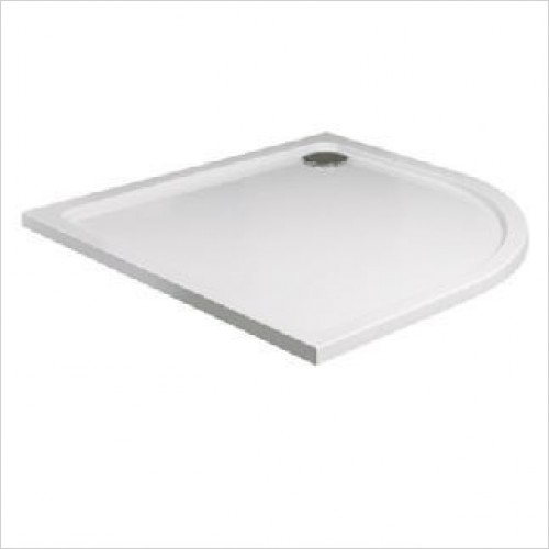 Acrylic Stone Quadrant Tray 1000mm