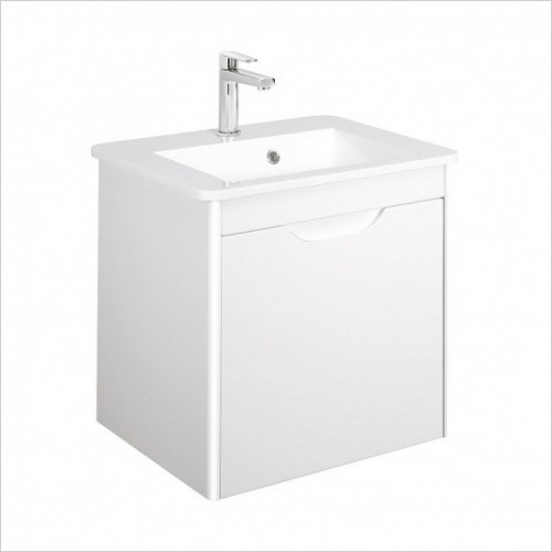 Crosswater Basins - Solo F Basin 550mm 1TH