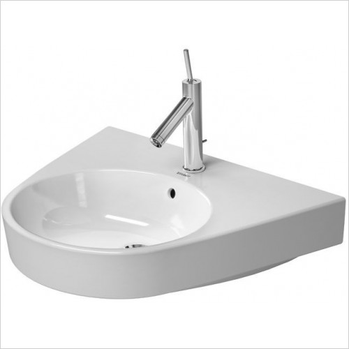 Duravit - Basins - Starck 2 Washbasin 650mm 3TH