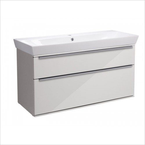Roper Rhodes Furniture - Scheme 1000 Wall Mounted Double Drawer
