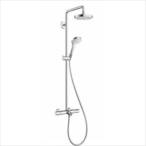 Hansgrohe Showers - Croma Select S 180 2 Jet Showerpipe For Bath