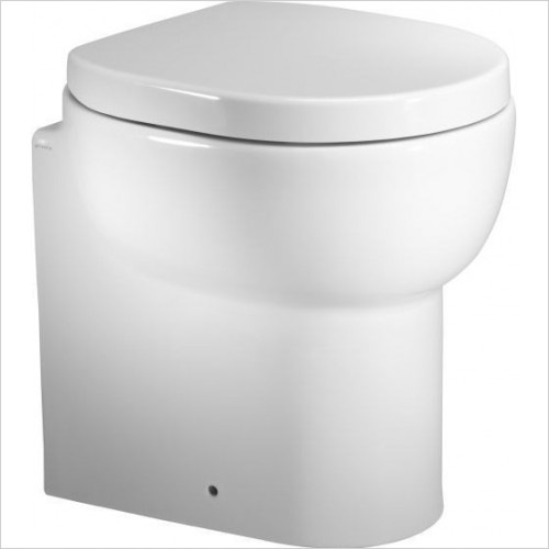 Roper Rhodes Toilets - Zest Short Projection 450mm Back to Wall Pan