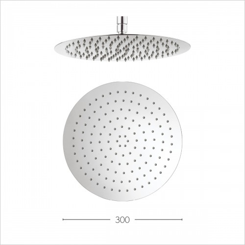 Crosswater Showers - Central 300mm Diameter Showerhead