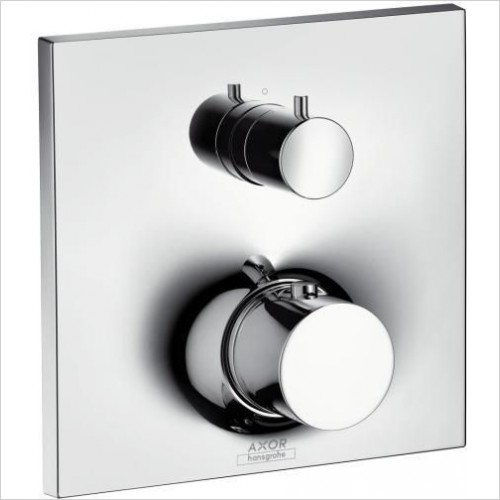 Axor Taps - Massaud Thermostatic Mixer With Shut-Off/Diverter