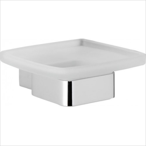 Roper Rhodes Accessories - Horizon Frosted Glass Soap Dish Holder