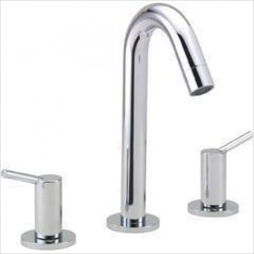 Hansgrohe Taps - Talis S2 3 Hole Basin Mixer With Fixed Spout