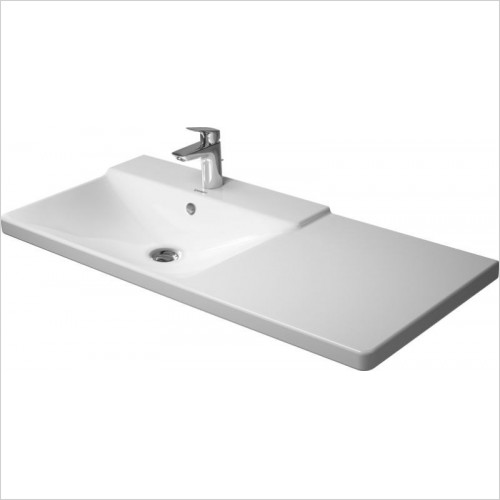 Duravit - Basins - P3 Comforts Furniture Washbasin 1060mm Bowl On Left 3 Hl