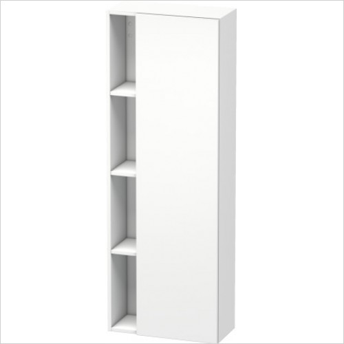 Duravit Furniture - DuraStyle Tall Cabinet 1400x500x240mm LH Hinge