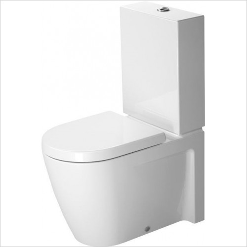 Duravit - Toilets - Starck 2 Toilet Close Coupled 630mm Washdown Vario Outlet