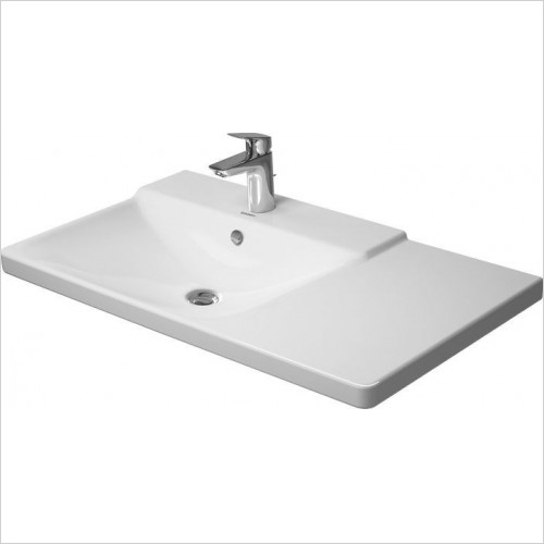 P3 Comforts Furniture Washbasin 850mm Bowl On Left 3TH