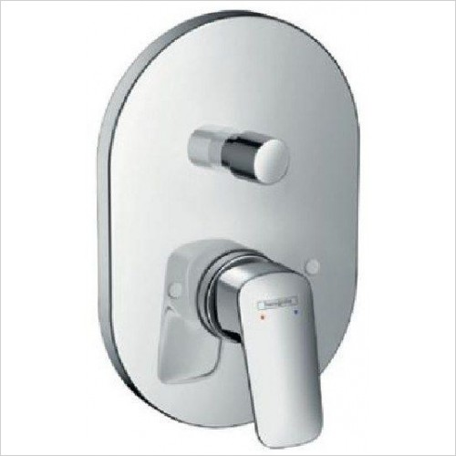 Hansgrohe Showers - Logis Single Lever Bath Mixer For Concealed Installation