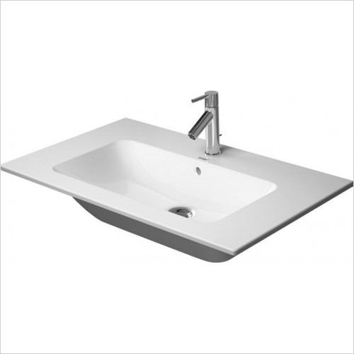 Duravit - Basins - ME By Starck Furniture Basin 830mm 1 Tap Holes