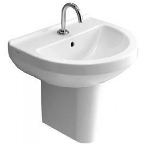 Vitra Basins - S50 Round Basin 55 x 45cm 1TH