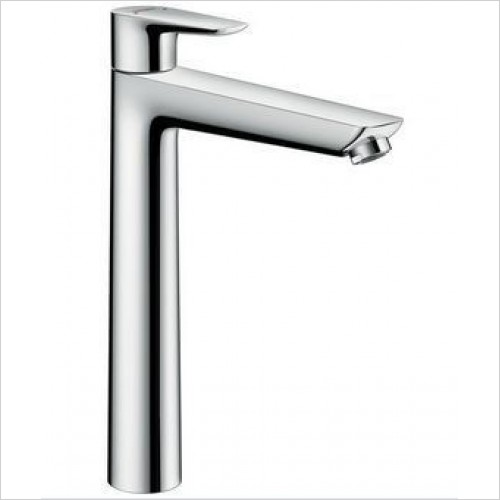 Hansgrohe Taps - Talis E Single Lever Basin Mixer 240, Pop-Up Waste