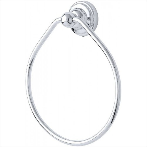 Perrin and Rowe Accessories - Traditional Towel Ring 150mm