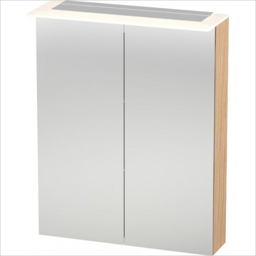 X-Large Mirror Cabinet 760x600x138/208mm